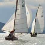 sailing boats on lake balaton
