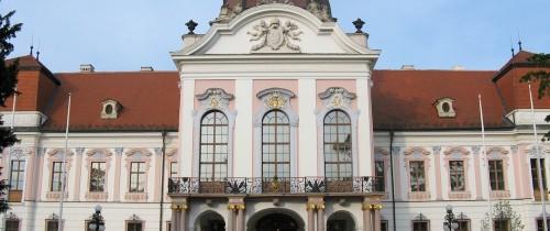 Gödöllö - Grassalkovich palace main facade