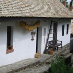 Tipical house at Hollókő